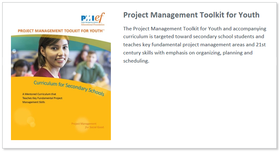 Toolkit For Youth